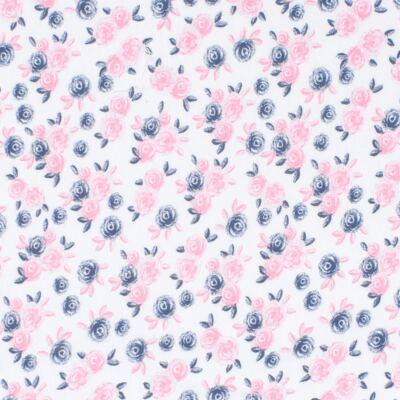 Imagem 2 do produto Manta para bebê em suedine Flourish - Mini Sailor