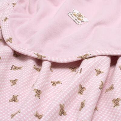 Imagem 3 do produto Manta para bebe em algodão egípcio c/ jato de cerâmica e filtro solar fps 50 Teddy Sammy - Mini & Kids