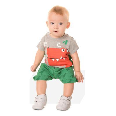 Imagem 4 do produto Camiseta c/ Shorts em tactel Green Dino - Livy