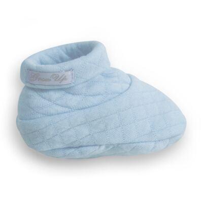 Imagem 4 do produto Sapatinho em suedine Azul Matelassê - Grow Up