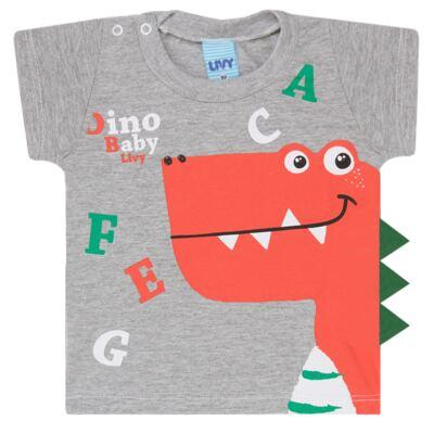 Imagem 2 do produto Camiseta c/ Shorts em tactel Green Dino - Livy