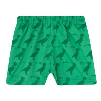 Imagem 3 do produto Camiseta c/ Shorts em tactel Green Dino - Livy