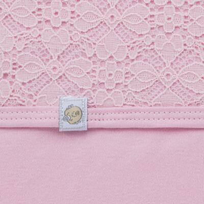 Imagem 3 do produto Jogo Maternidade para bebe com Macacão e Manta em suedine Gabrielly - Beth Bebê - BB8824 Saida Maternidade Suedine Gabrielly-RN