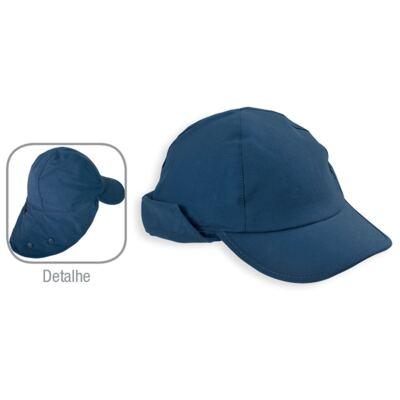 Imagem 2 do produto Boné c/ proteção em microfibra Marinho - Dedeka - DDK18516/L08 BONE COM REGULAGEM MARINHO