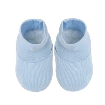 Imagem 4 do produto Kit c/ Touca, Luva e Sapatinho em high comfort Azul - Vicky Baby