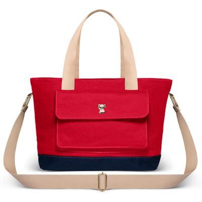 Imagem 1 do produto Bolsa maternidade Classic Fit Sarah M Vermelho - Classic for Baby Bags