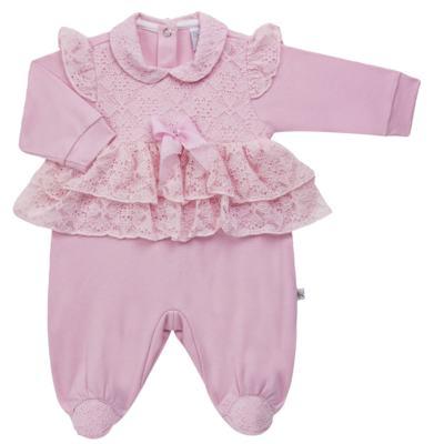Imagem 4 do produto Jogo Maternidade para bebe com Macacão e Manta em suedine Gabrielly - Beth Bebê - BB8824 Saida Maternidade Suedine Gabrielly-P