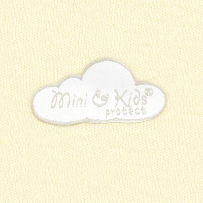 Imagem 2 do produto Body regata para bebe em suedine Baby Protect Amarelo - Mini & Kids - BDR0001.61 BODY REGATA - SUEDINE PROTECT-P