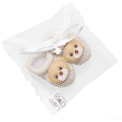 Imagem 2 do produto Sapatinho para bebe em tricot Ursinho Bege - Roana