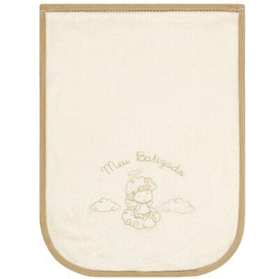 Imagem 1 do produto Toalha para batizado Marfim - Classic for Baby