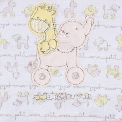 Imagem 4 do produto Toalha com capuz + Luva para bebe Elefantinha - Classic for Baby