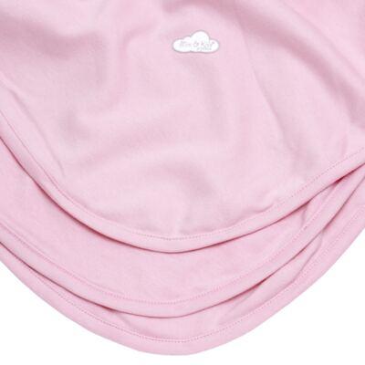 Imagem 3 do produto Manta para bebe em suedine Baby Protect Rosa - Mini & Kids