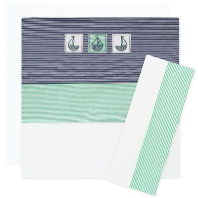 Imagem 1 do produto Jogo de lençol para berço em malha Sea Adventure - Classic for Baby