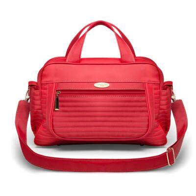 Imagem 1 do produto Bolsa maternidade para bebe Sevilha Golden Vermelho - Classic for Baby Bags