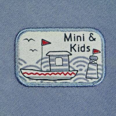 Imagem 3 do produto Manta dupla face em algodão egípcio c/ jato de cerâmica e filtro solar fps 50 Boat - Mini & Kids