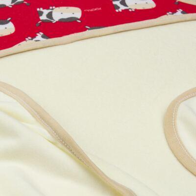 Imagem 3 do produto Toalha de banho com capuz para bebe Vaquinha - Classic for Baby