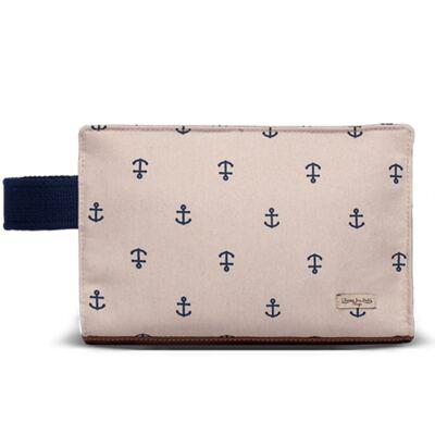 Imagem 1 do produto Mini Bolsa para bebe em sarja Navy Caqui - Classic for Baby Bags