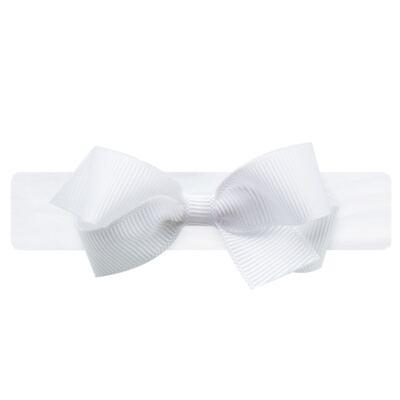 Imagem 2 do produto Faixa meia recém-nascido Laço Branco - Roana