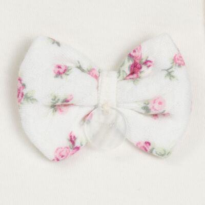 Imagem 3 do produto Regata com Cobre fralda  para bebe em suedine Florale - Grow Up - 04070049.0004 RGTA C/ FRALDA FLOWERY CREME -G