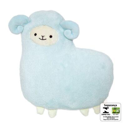 Imagem 2 do produto Almofada Carneirinho Soft Azul (3m+) - Buba
