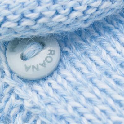 Imagem 2 do produto Sapatinho para bebe em tricot Azul - Roana