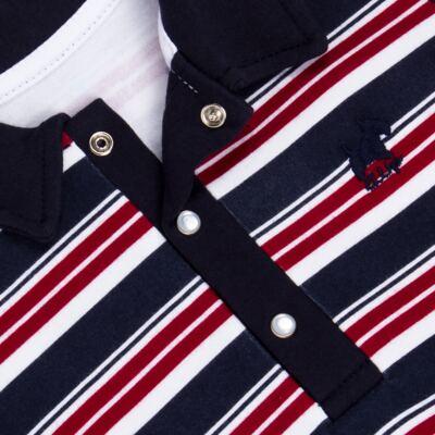 Imagem 2 do produto Macacão Polo para bebe em algodão egípcio Norfolk - Grow Up - 02010425.0017 MACACAO DOG VERMELHO -G