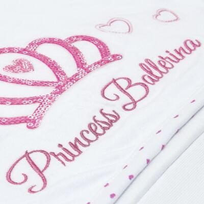 Imagem 4 do produto Toalha Max com capuz atoalhado Princess Ballerina - Classic for Baby