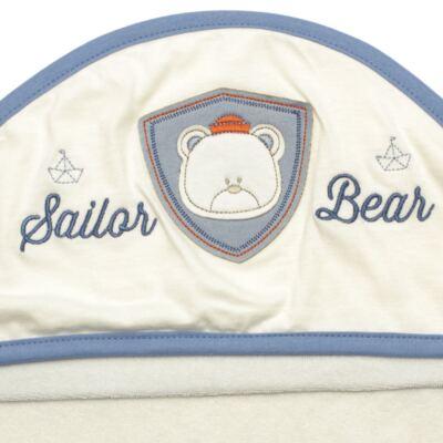 Imagem 3 do produto Toalha Max com capuz atoalhado Sailor - Classic for Baby