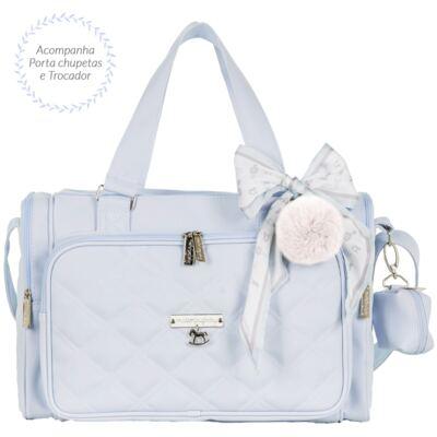 Imagem 1 do produto Bolsa para bebe Anne Soldadinho Azul - Masterbag