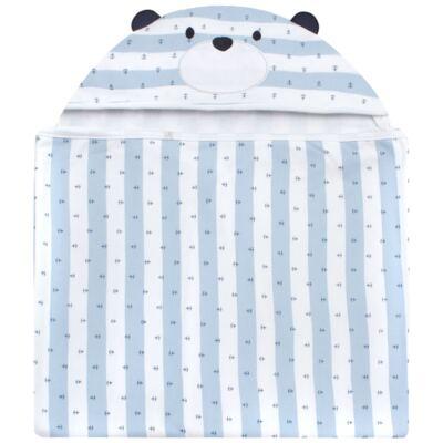Imagem 1 do produto Toalha Max com capuz Blue Captain - Classic for Baby