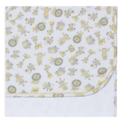 Imagem 1 do produto Manta em algodão egípcio c/ jato de cerâmica e filtro solar fps 50 Nature Giraffe & Friends - Mini & Kids
