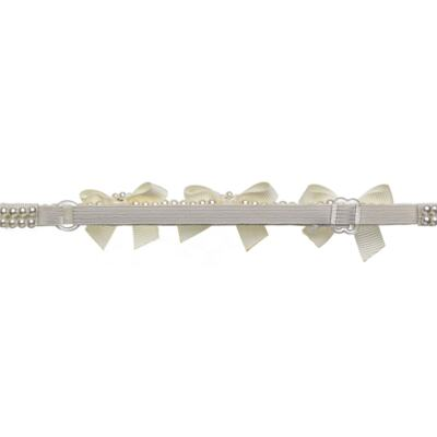 Imagem 3 do produto Headband Lacinhos & Pérolas Marfim - Roana