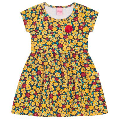 Imagem 1 do produto Vestido para bebê Floral Marinho - Livy