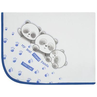 Imagem 1 do produto Manta em suedine Urso Panda - Vicky Lipe