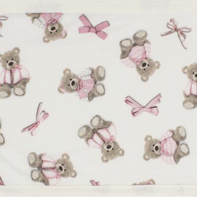 Imagem 2 do produto Jogo de lençol para carrinho em malha Bellamy - Classic for Baby