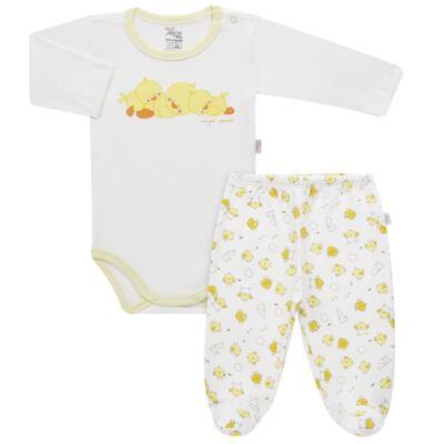 Imagem 1 do produto Pijama longo para bebe em suedine Piu Piu - Anjos Baby - AB1759006.004 PIJAMA BABY SUEDINE FEM PIU PIU T06-P
