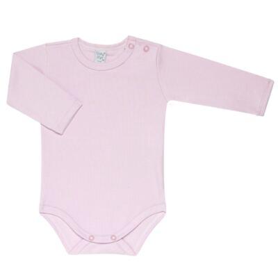 Imagem 3 do produto Kit 2 Bodies longos para bebe Flowery - Vicky Lipe - LTPBML10 PACK 2 BODEIS ML FLORIDO/LILÁS-RN