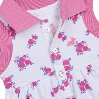 Imagem 3 do produto Vestido Polo com Calcinha para bebe em piquet Mimme - Missfloor - 18BC0001.505 BATA POLO REGATA C/ CALCINHA - PIQUET-1