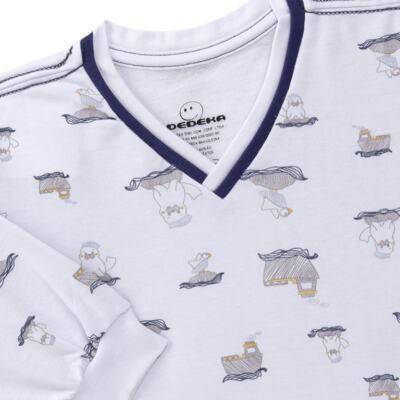 Imagem 3 do produto Pijama longo em moletinho Wally - Dedeka - DDK16638/E112 Pijama Moletinho Morsa-1