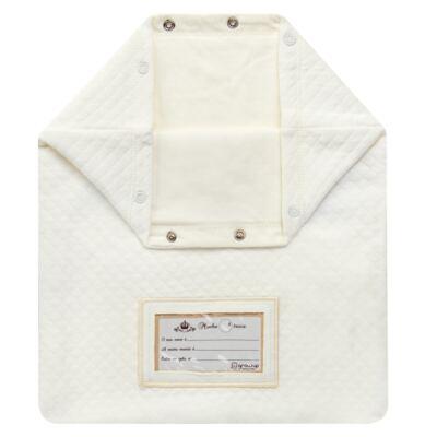Imagem 2 do produto Porta Roupinhas para Maternidade Marfim Matelassê - Grow Up