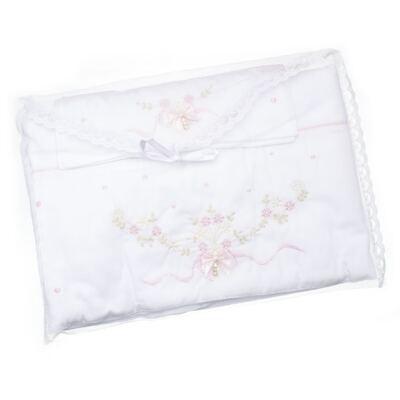Imagem 4 do produto Jogo de lençol para berço em malha Laços & Strass - Roana