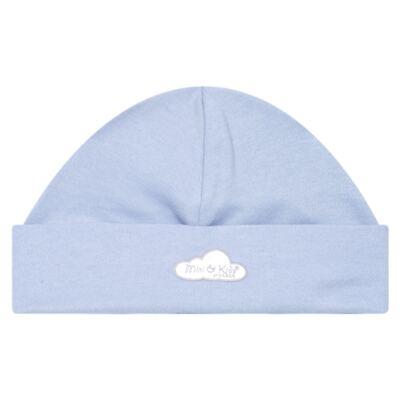 Imagem 2 do produto Kit c/ Touca, Luva e Sapatinho em suedine Baby Protect Azul - Mini & Kids