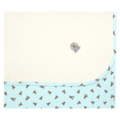 Imagem 1 do produto Manta para bebe em algodão egípcio c/ jato de cerâmica e filtro solar fps 50 Teddy Sam - Mini & Kids