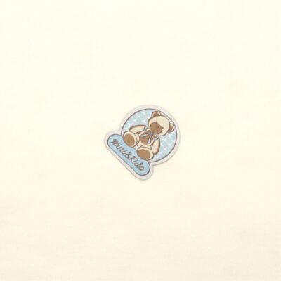 Imagem 2 do produto Manta para bebe em algodão egípcio c/ jato de cerâmica e filtro solar fps 50 Teddy Sam - Mini & Kids