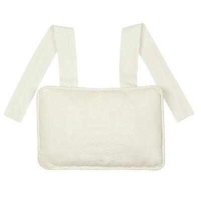 Imagem 1 do produto Almofada Santo Anjo para bebe em piquet branco - Classic for Baby