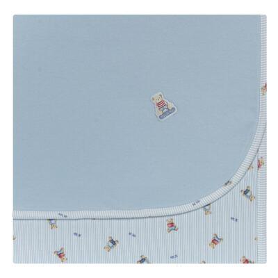 Imagem 1 do produto Manta para bebe em algodão egípcio c/ jato de cerâmica e filtro solar fps 50 Mr. Bear - Mini & Kids