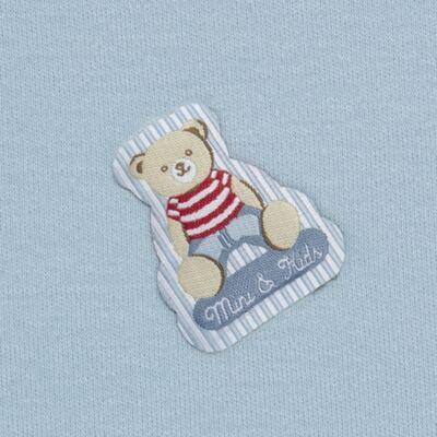 Imagem 2 do produto Manta para bebe em algodão egípcio c/ jato de cerâmica e filtro solar fps 50 Mr. Bear - Mini & Kids