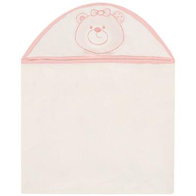 Imagem 1 do produto Toalha Max com capuz atoalhado Ursinha - Classic for Baby