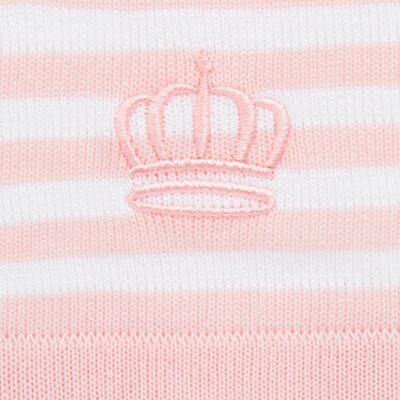 Imagem 2 do produto Manta para bebe em tricot jacquard Princess Bear - Mini & Classic