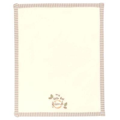 Imagem 2 do produto Kit com 2 fraldinhas de boca para bebe em algodão egípcio c/ jato de cerâmica e filtro solar fps 50 Nature Little Friend Bear - Classic for Baby